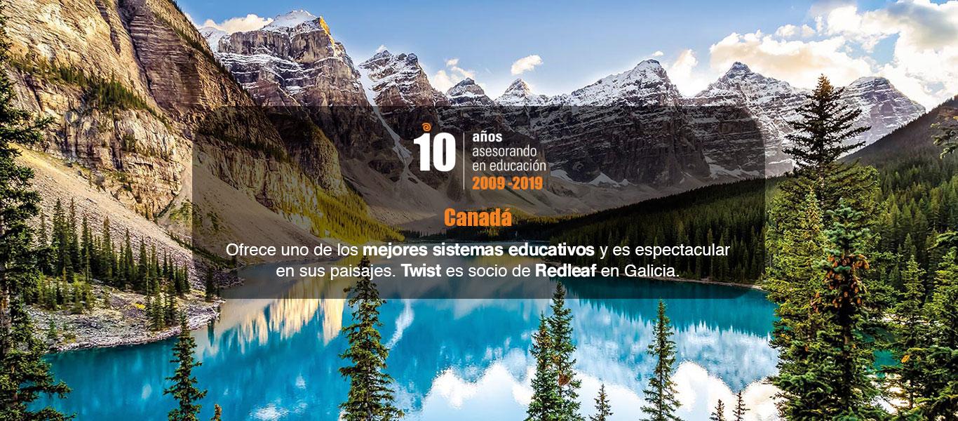 Educación en Canada con Twist Redleaf